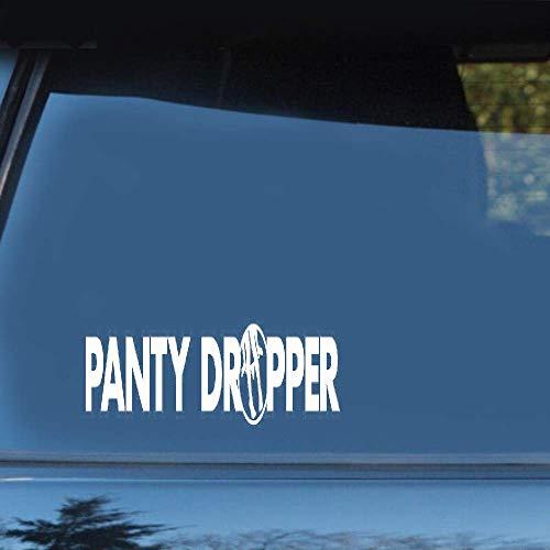 Panty Dropper, 20 x 2,4 cm, grappige stickers voor motorfiets, auto, styling, voor auto, laptop, raam, stickers