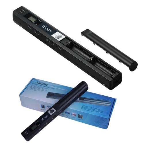 Microware iScan Portable Mini Cordless A4 Scan 900DPI Document Book Handheld Scanner