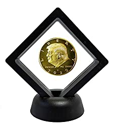 President Donald Trump Gold Commemorative Coin and Display Case
