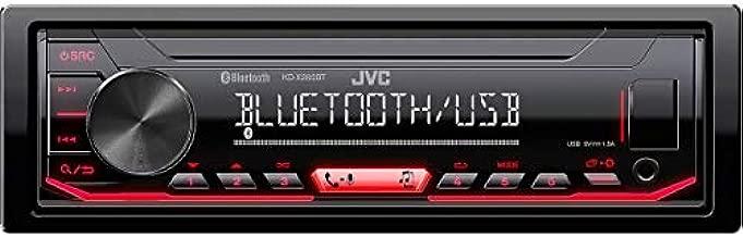 JVC KD-X260BT Digital Media Receiver Featuring Bluetooth/USB / Pandora/iHeartRadio / Spotify / 13-Band EQ,BLACK