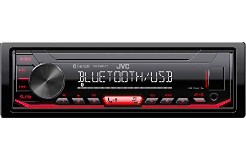 JVC KD-X260BT Digital Media Receiver Featuring Bluetooth/USB / Pandora/iHeartRadio /