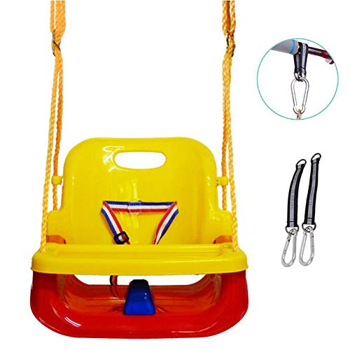 Read About FANGX 4-in-1 Baby Swing Seat Detachable Toddlers Children Hanging Seat Kids Children Swin...