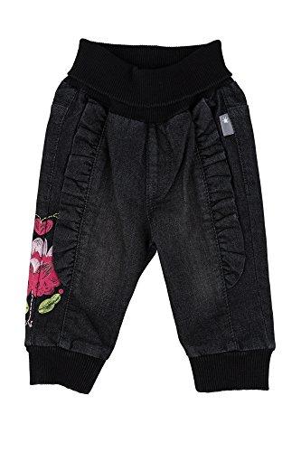 Sigikid Baby-Mädchen Jeans, Grau (Black Denim 11), 68