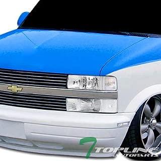 Topline Autopart Chrome Clear Signal Blinkers Parking Bumper Lights Lamps For 95-05 Chevy Astro Van/GMC Safari