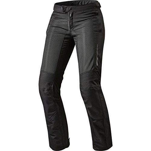 FPT073 - 0013-L42 - Rev It Airwave 2 Ladies Motorcycle Trousers 42 Black Long
