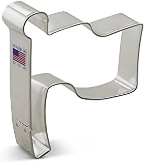 Ann Clark Cookie Cutters Flag Cookie Cutter, 4.25