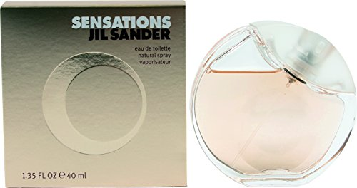 Jil Sander Sensations EDT Eau de Toilette Spray, 40 ml