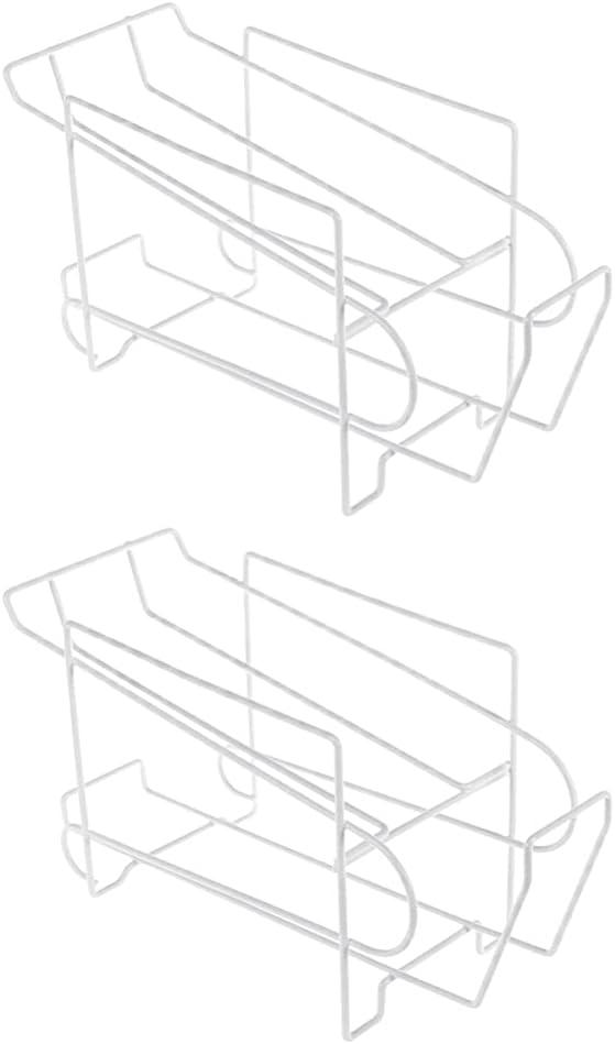 Hemoton 2pcs Metal Wire Max 50% OFF Standing Pop Organizer Bins Refrigerator sold out