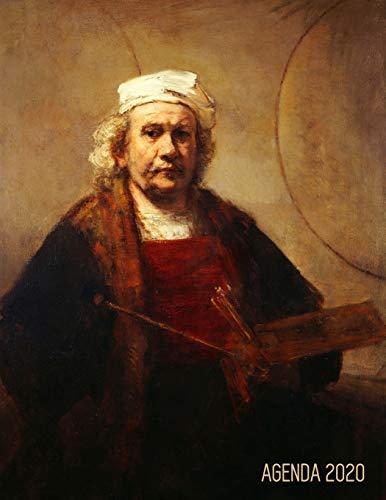 Rembrandt Planificador Diaria 2020: Autorretrato con Paleta y Pinceles | Agenda 2020:...