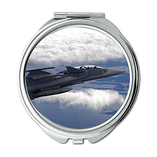 Yanteng Kampfflugzeuge, Spiegel, Schminkspiegel, Feuerwehrausrüstung, Taschenspiegel, tragbarer Spiegel