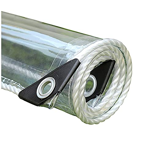 Trapaulin Transparente Clear A Prueba De Agua Asiento Asiento Asiento Aislamiento Aislamiento De Asultorio De Invertenior Cobertura De Tarjeta De Nego Pvc Tarpaulin Aumentud(Size:1.8×2m/5.9×6.6ft)