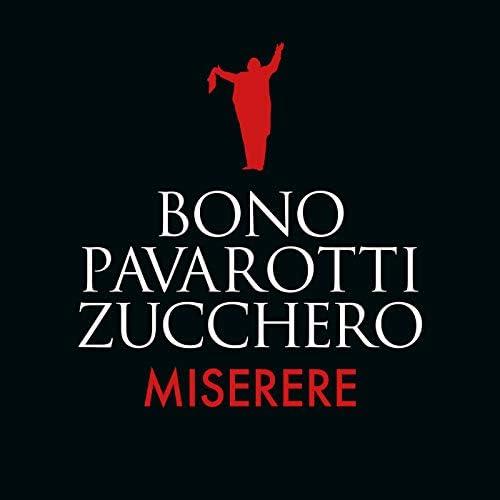 Bono, Luciano Pavarotti & Zucchero