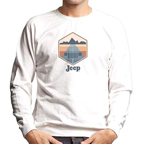 Jeep Drive with A View Men's Sweatshirt