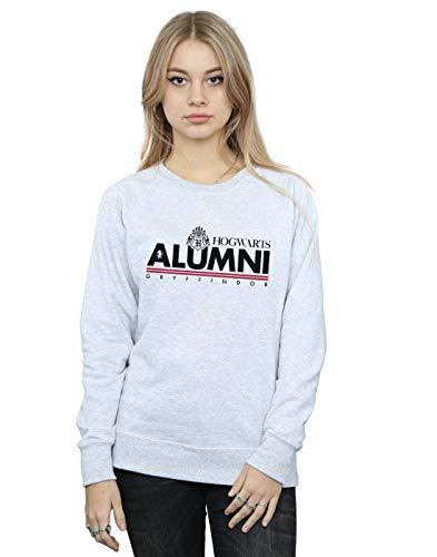 Harry Potter Damen Hogwarts Alumni Gryffindor Sweatshirt Sport Grau Medium