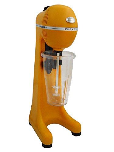Johny AK/2–2TA de Eco de y bebidas automático Licuadora Frappé de Maker, frapiera, 2velocidades, fabricado en Grecia, Amarillo