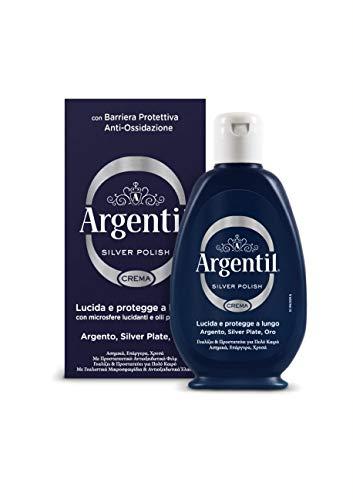 Argentil -  Detergente per Argento, Silver Polish,Crema - 150ml