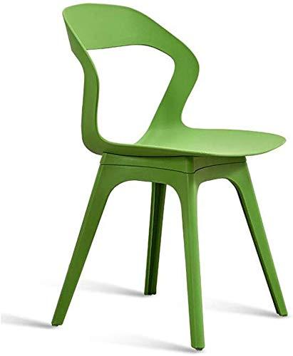 HOMRanger Streamline Design Modern Dining Side Chairs Kunststoffstuhl Patio Gartenstühle Hocker (Farbe: Grau)