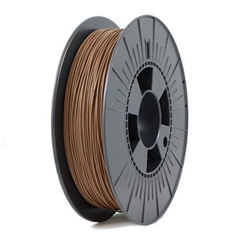 ICE Filaments ICEFIL1WOO160 WOOD filamento, 1.75mm, 0.5 kg, Barnyard Brown