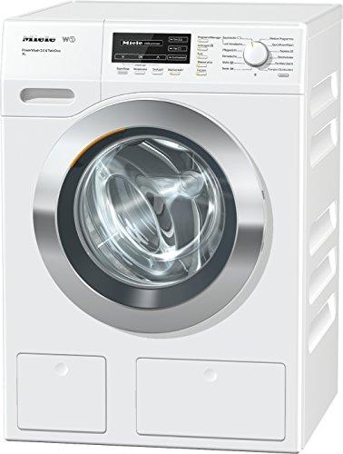 Miele WKH 132 WPS Waschmaschine Frontlader / A+++ / 130 kWh/Jahr / 1600 UpM / 9 kg Schontrommel / 59min-Waschprogramm mit PowerWash 2.0 / Automatische Dosierung / Fleckenoption