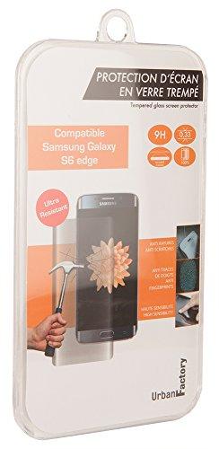 Urban Factory TGP08UF - Protector de pantalla para Samsung Galaxy 6 Edge...