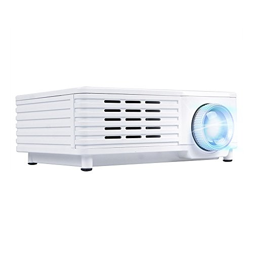 OEM B3 LED LCD (QVGA) Mini Video Projector - US Version (Includes Warranty) - White (FP3224B3W)