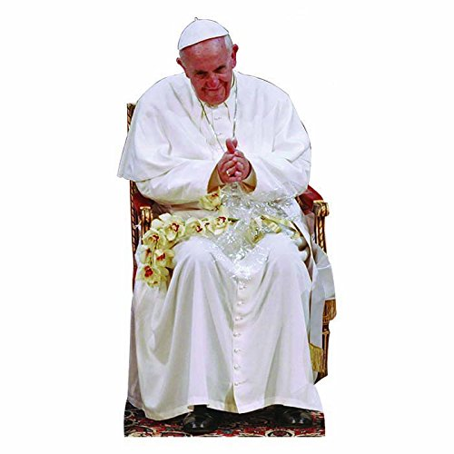 Wet Paint Printing + Design WGH48063 Pope Francis Sitting Vinyl Wall Graphic