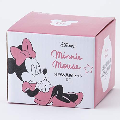 サンアート『ディズニーおやすみミニーマウス汁椀・茶碗セットミニ』