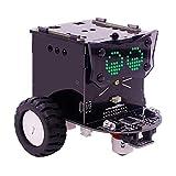 JING Kit De Construcción De Robots, Versión Estándar Omibox Scratch Programable Coche Robot Kit De Aprendizaje De Robótica DIY Educativo Stem Juguetes Regalo para Niños,Standard
