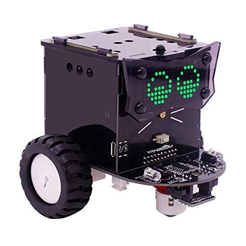 HARTI Robot Building Kit, Standard Version Omibox Scratch Programmable Robot Car Kit Robotics Learning Kit DIY Educational Stem Toys Gift for Children Kids,Standard