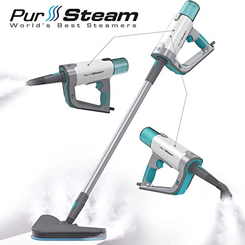 Steam Mop Cleaner ThermaPro Elite 12 in 1 for Hardwood/Tiles/Vinyl/Carpet -...