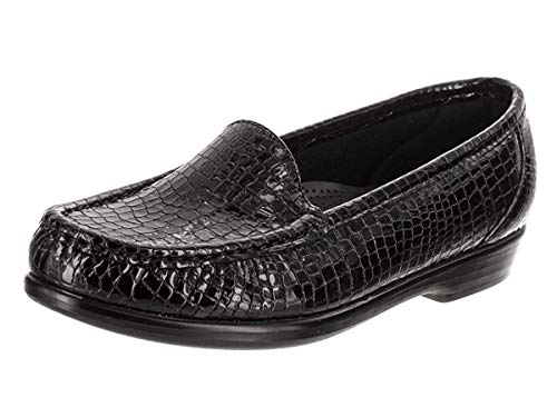 SAS Simplify Black Croc 9 N - Narrow (AA)