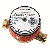 - Compteur d'eau - Compteur divisionnaire eau chaude pré-équipé télérelevage - 3/4' (20x27)