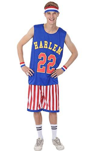 ORION COSTUMES Costume Adulte de basketball Harlem globe-trotters