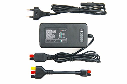 Kaddie Boy Limited - vollautomatisches Akkuladegerät für Powakaddy mit Plug 'n' Play Adapter - Puls-Kontrollnote, Nur für Blei- und Säure-Batterien, Kein Lithium