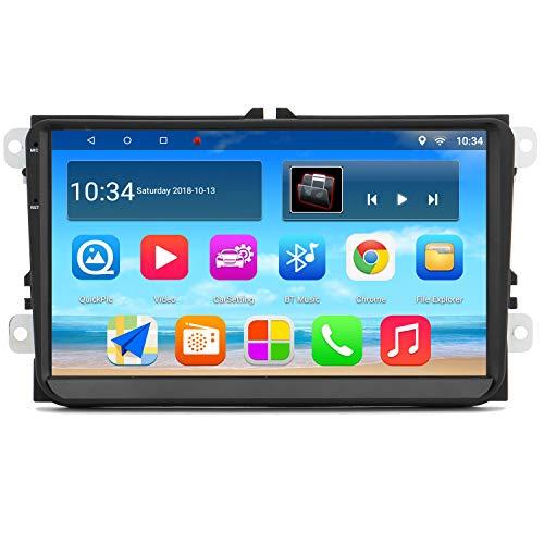 "Panlelo PAS9 Android 7.1 Estéreo para automóvil 9 ""HD FM Am RDS Radio Navegación por GPS BT WiFi SWC SUBOUT para VW Passat Golf Polo Touran Sharan Leon Caddy Toledo Bora"