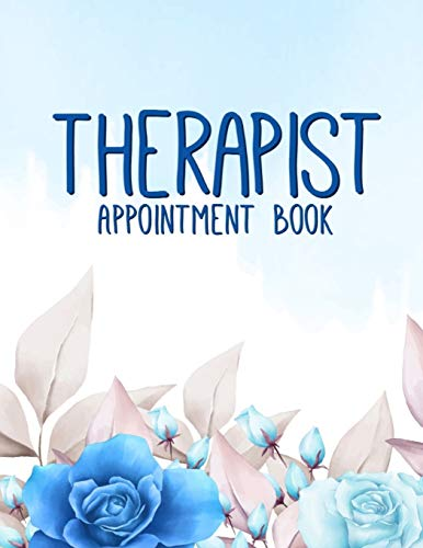 Best Price Therapist Appointment Book: Hourly Dated Organizer | Agenda Client Book with Daily and Ho...