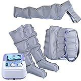 Máquina de masaje multifuncional, a compresión de aire, cintura brazo, pierna, pies, masajeador de pantorrilla, alivio de los bolsillos y el edema, mejora la obesidad y alivia la fatiga.