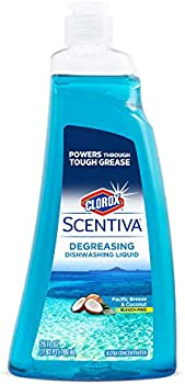 Clorox Scentiva Dishwashing Liquid Soap, Pacific Breeze & Coconut, 26 Oz