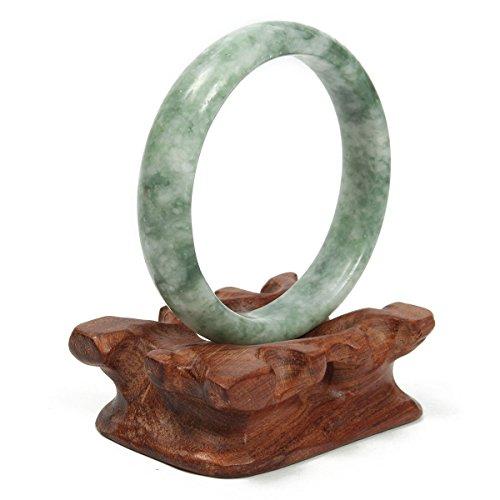 GOZAR China Verde Jade Pulsera De Piedras Preciosas