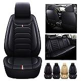 QERFSD Custom Car Seat Covers Kompatibel Mit Volkswagen VW Tiguan Touareg T-Cross T-ROC Touran Up...