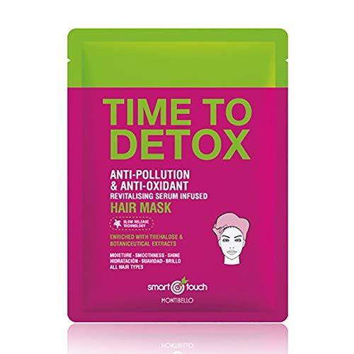 Montibello Smart Touch Time To Detox Masque 30 ml (Or), Rouge, Standard