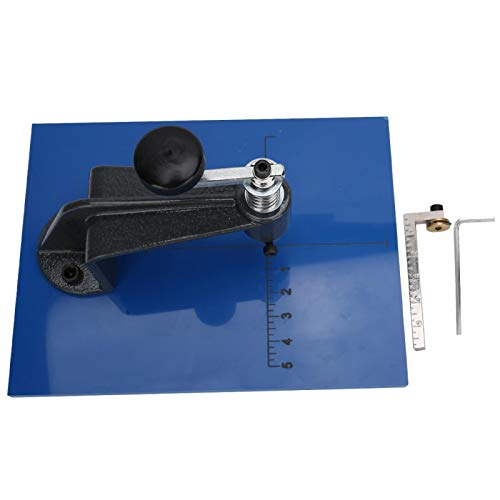 Cortador de vidrio circular de acero, elección ideal, mesa de corte de...