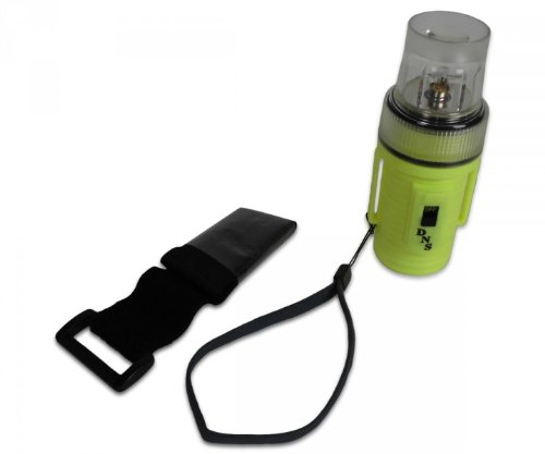 LED Rettungsleuchte mit Blinklicht