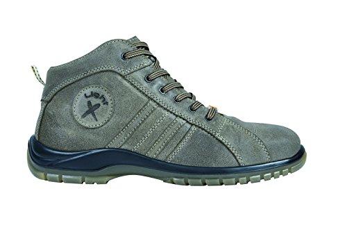 Exena 1106048013473 - Ares - scarpe di protezione del lavoro, dimensione 47, marrone