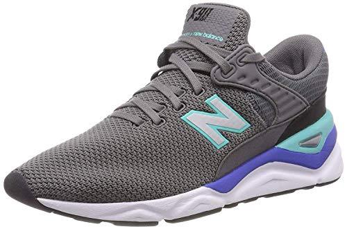 New Balance Herren X-90 h Sneaker, Grau (Castlerock/Tidepool Crd), 44 EU