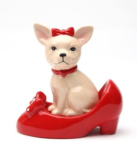 Magnetic Max 79% OFF Salt and Pepper Shaker Chihuahua In - Selling rankings Shoes
