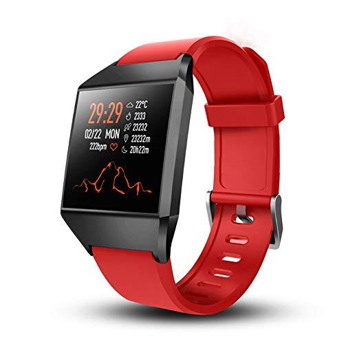 Alvnd Sportarmband, hartslagfrequentie, bloeddruk, sporthorloge, stappenteller, sporthorloge, smart bluetooth, IP67 waterdicht, D
