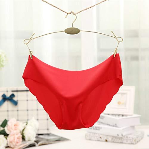 Zent Ropa Interior Ultrafina para Mujer, Bragas sin Costuras para Mujer, Bragas Simples para Chicas, lencería íntima
