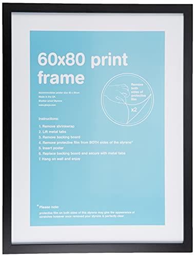 GB eye LTD, Negro , 60x80cm - Eton, Marco