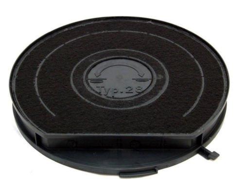 Bartyspares TYPE 28 - Filtro al carbone per cappa aspirante Hotpoint Whirlpool